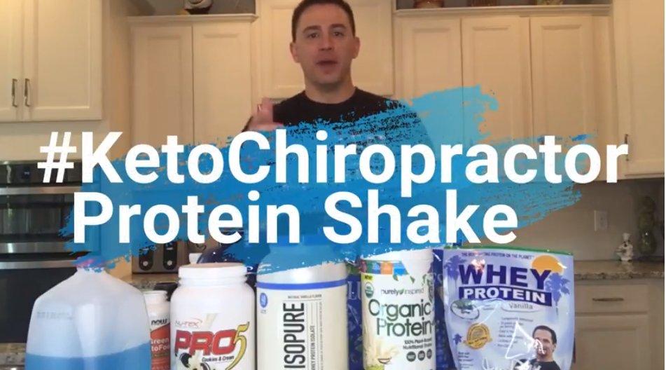 Protein Shakes | Madison & Goodlettsville Chiropractor | #KetoChiropractor